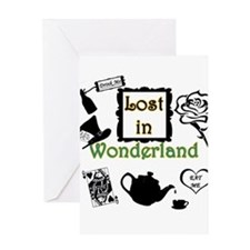 Lost in Wonderland Greeting Card