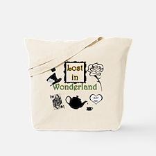 Lost in Wonderland Tote Bag