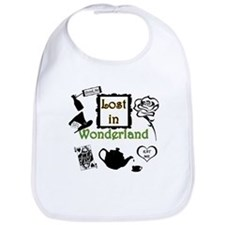 Lost in Wonderland Bib