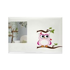 Love Owl Rectangle Magnet