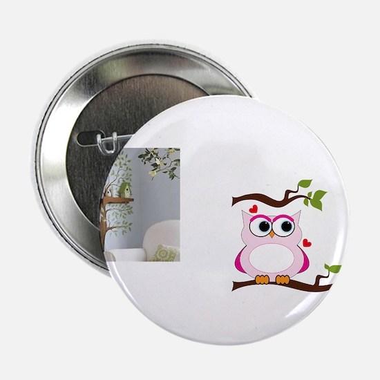 "Love Owl 2.25"" Button"