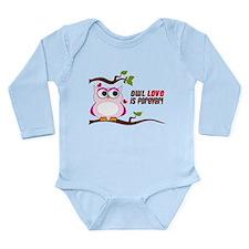 Owl Love Is Forever Long Sleeve Infant Bodysuit