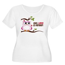 Owl Love Is Forever T-Shirt