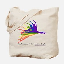 Rainbow Jete Tote Bag