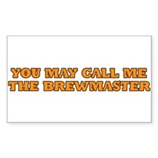 You may call me the brewmaster Decal