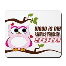 Favorite Valentine Mousepad