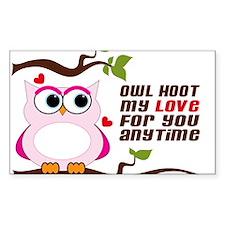 Owl Hoot Decal