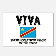 Viva The Democratic Republic Of The Congo Postcard