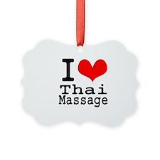 I love Thai Massage Ornament