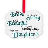 Daughter Picture Frame Ornaments