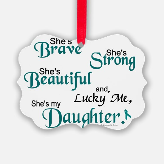 Cute Daughter Picture Ornament