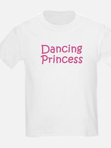 Dancing Princess Kids T-Shirt