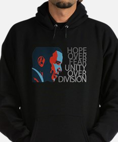 Obama - Red & Blue Hoodie (dark)