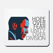 Obama - Red & Blue Mousepad