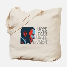Obama - Red & Blue Tote Bag