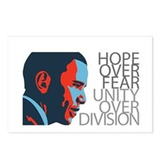 Obama - Red & Blue Postcards (Package of 8)