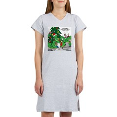 Santa Squid Women's Nightshirt