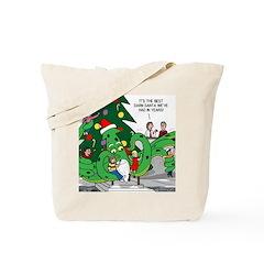 Santa Squid Tote Bag