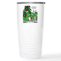 Santa Squid Travel Mug