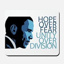 Obama Blue Tones Mousepad