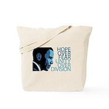 Obama Blue Tones Tote Bag