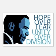 Obama Blue Tones Postcards (Package of 8)