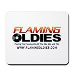 Flaming Oldies Mousepad