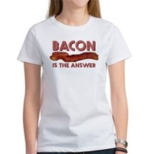 Bacon is the Answer Tee