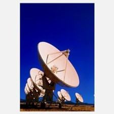 Very Large Array (VLA) radio antennae