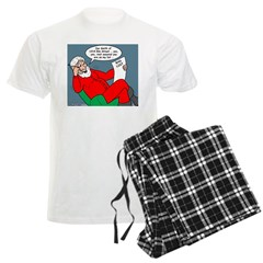 Santa's Bad List Pajamas