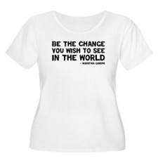 Quote - Be the Change T-Shirt