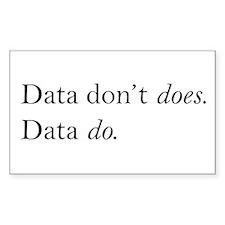 Data Do Decal