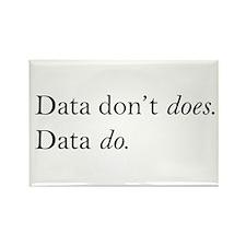 Data Do Rectangle Magnet (100 pack)