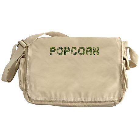 Popcorn, Vintage Camo, Messenger Bag