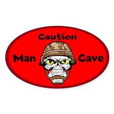 Man Cave Decal