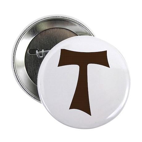 "Tau Cross or Crux Commissa 2.25"" Button (100 pack)"