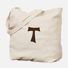 Tau Cross or Crux Commissa Tote Bag