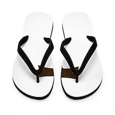 Tau Cross or Crux Commissa Flip Flops