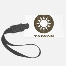 Vintage Taiwan Luggage Tag