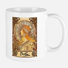 Vintage Mucha Zodiac Print Mug