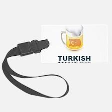 Turkish Drinking Team Luggage Tag