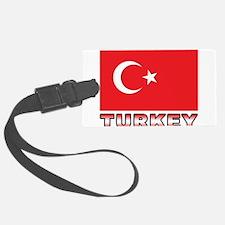 Turkey Luggage Tag