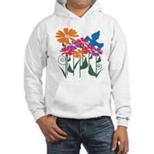 Flower and Bird Hoodie