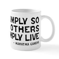Quote - Live Simply Mug