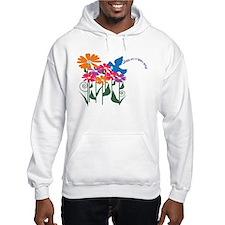 Happy Spring Flower Hoodie