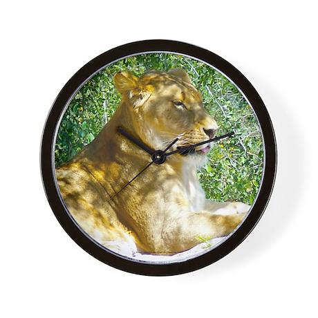 Lazy Lion (Wall Clock)