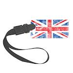 Vintage United Kingdom Small Luggage Tag