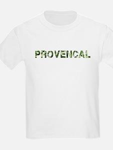 Provencal, Vintage Camo, T-Shirt