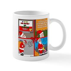 Santa Gets No Respect Mug
