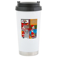 Santa Gets No Respect Travel Mug